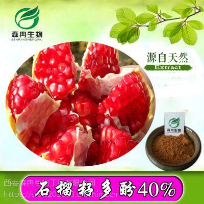 森冉生物石榴籽提取物/石榴籽多酚40%/石榴提取物