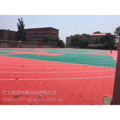 蒲城拼装-地板-篮球场造价设计图纸