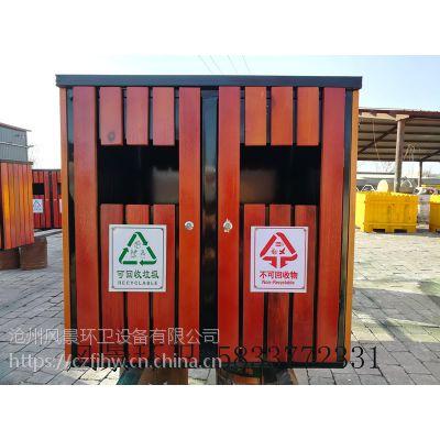 内蒙古户外垃圾箱 呼和浩特分类垃圾桶厂家直销