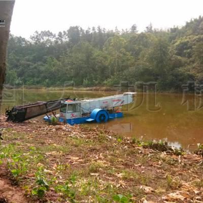福州水上割草船 芦苇打捞船现货出售