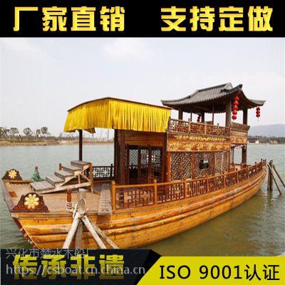 双层画舫船 水上餐饮船 观光旅游船 仿古木船 服务类船出售