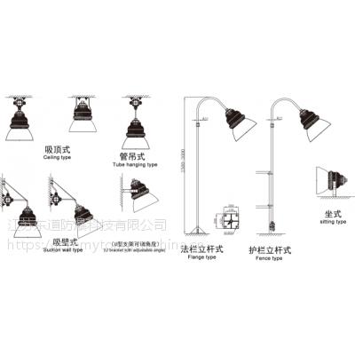 BAT95R5防爆灯100w 就选东道防爆 全网低价格直销