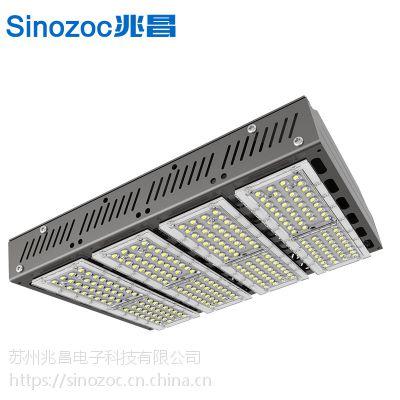 兆昌LED马路灯ZCXHC小金豆大功率路灯120W8米高路灯头