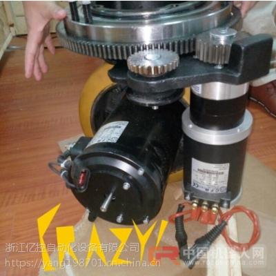 中国agv小车意大利CFR-马路达-德国夏渤穆勒-agv卧式舵轮电动堆高车