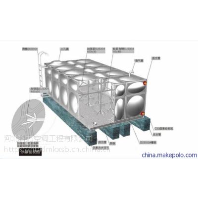 华北地区优质不锈钢水箱 保温不锈钢水箱 现货出售