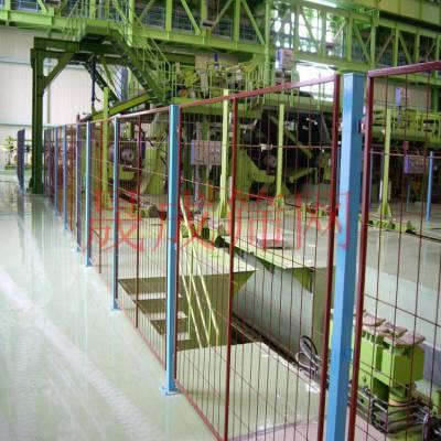 珠海铁丝仓储隔离网 东莞厂房车间隔离网 批发定做机器设备防护网