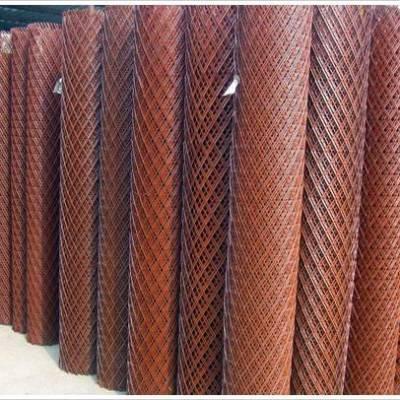 菱形钢板网片规格型号/菱型菱形钢板网片计算/冠成