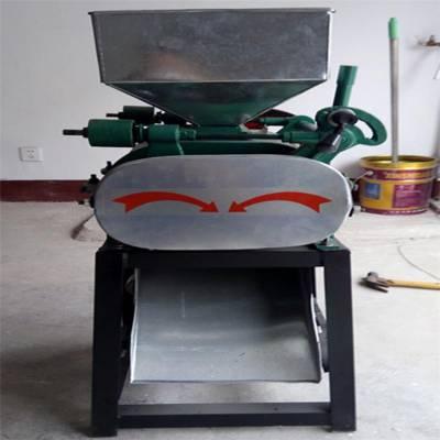 粮食加工机械设备 食品豆子挤扁机