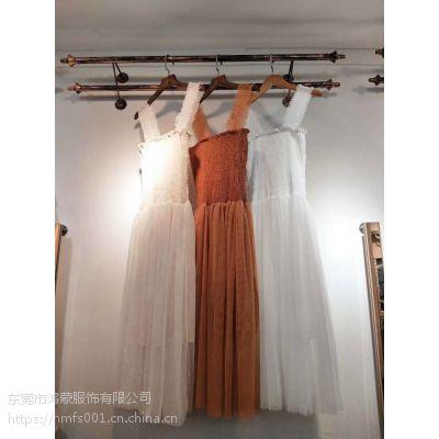杭州服装批发厂家指教公主时尚连衣裙批发女式纱裙供应便宜女装新款连衣裙批发
