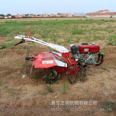 小型农业机械微耕机 四驱自走式微耕机 大功率除草松土耕田机