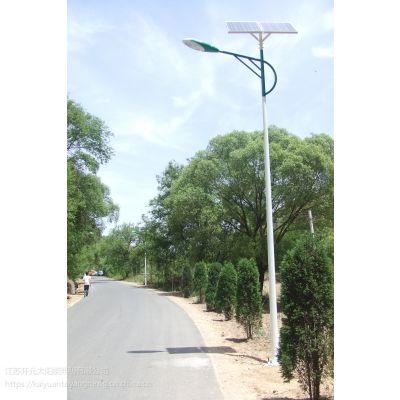 孝感6米30W金星二体灯太阳能路灯一套多少钱