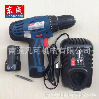东成12v充电钻DCJZ10-10锂电钻 12v手电钻起子机电动螺丝刀