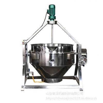 糯米熬制夹层锅 夹层锅配件价格