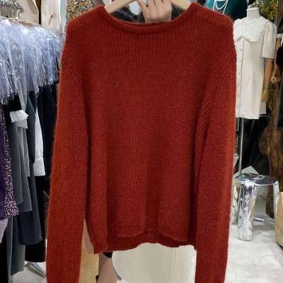 秋季新款套头毛衣女上衣韩版羊绒毛衣厂家特价处理批发库存毛衣低价大量批发