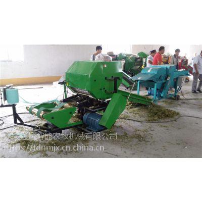 玉米秸秆青储打捆机实时报价乐陵通达机械提供/养牛用圆捆打捆机