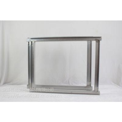 印刷制版用铝合金丝印网框价格石家庄嘉美专业订做