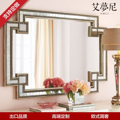 艾梦尼 厂家直销 卧室化妆镜穿衣镜浴室镜现代风格 可定制