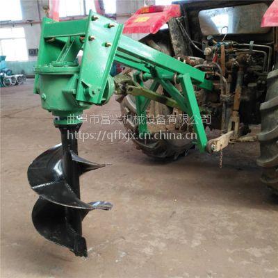 液压式螺旋钻眼机 手扶式深坑挖坑机 便携式柴油动力打坑机视频