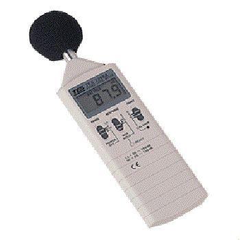 用什么仪器测声音的大小?噪声计、声级计TES1350A