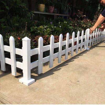 安徽淮南草坪护栏pvc塑钢花园围栏绿化带护栏公园护栏厂家