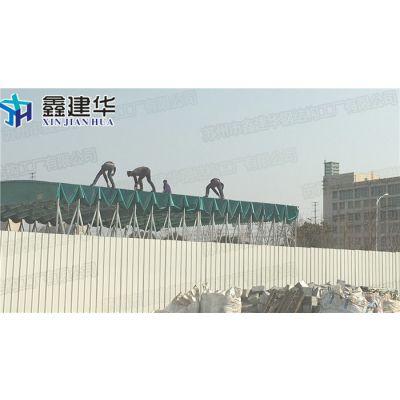 闵行区移动大型工厂雨棚定做厂家_布活动推拉户外遮阳篷供应
