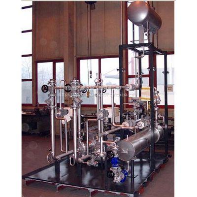 热压机导热油二次循环加热温控系统