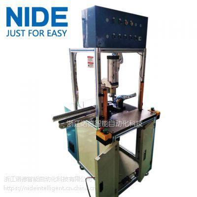 诺德定制 小型无刷直流电机定子上下压端板机,端板端盖装配压机