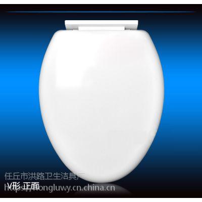通用马桶盖加厚坐便盖器盖板缓降快拆盖UVO型马桶盖