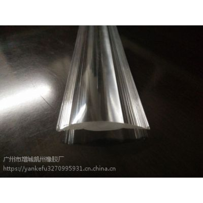 凯洲 PMMA双色塑胶共挤型材 软硬共挤PVC型材 ABS软硬密封条