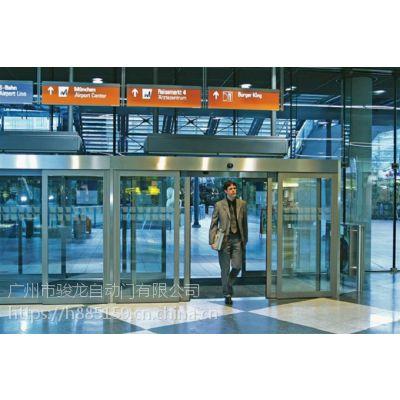 广州安装无框玻璃感应门,电动玻璃门驱动装置