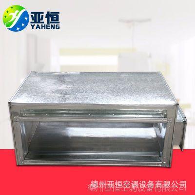 厂家供应定制 管道消声器 消声静压箱 规格齐全专业制作安装