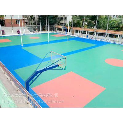 天津红桥进口丙烯酸篮球场画线单位我们是厂家