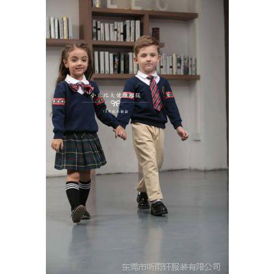 小丘比最新款式学院风幼儿园园服毛衫针织园服火热定购中。。