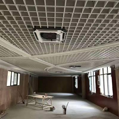 供应福建铝格栅 铝合金格栅 木纹铝格栅吊顶