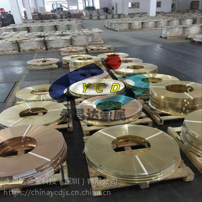 冲压用镀镍铜带 镀镍黄铜带现货 镀镍/镀锡铜带厂家