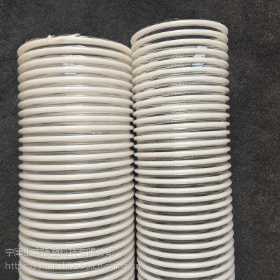 聚氨酯塑筋软管 抗静电通风管 PU抗磨损塑胶软管