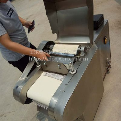 普航 咸菜腌制切丁机 宽度可调节多用切菜机 土豆切丝切片机价格
