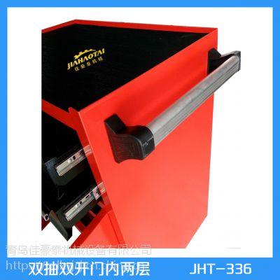 威海工具柜型号 加厚钢板 承重高 双抽工具柜 厂商低价供应