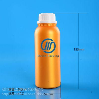 专业定制200ml塑料瓶 黄金塑料瓶 仿铝瓶GZ220-200ml