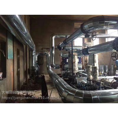 山西离石地区集中供热换热站类型铁板保温铝板保温施工报价