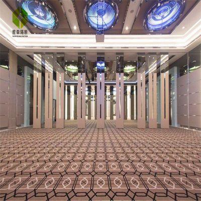 雅森活动隔断酒店推拉门效果图 铝合金材质 时尚 大气