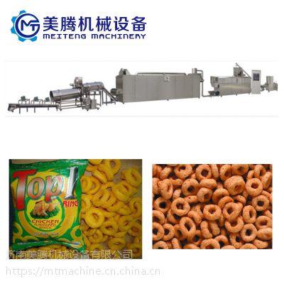 膨化玉米小食品生产线 休闲食品加工设备 美腾