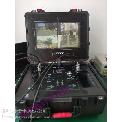 电力巡检四发一收高清无线接收图像系统
