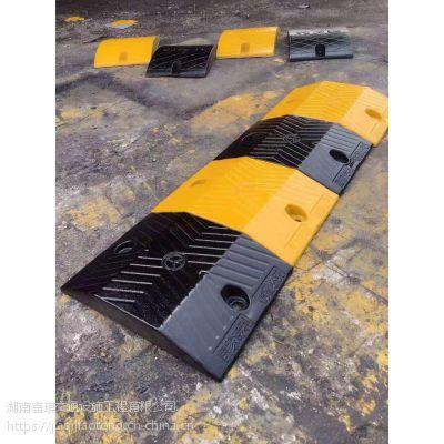 永顺通jsd-0104加厚加重全新款优质橡胶减速带黄黑双节减速带厂家大量批发