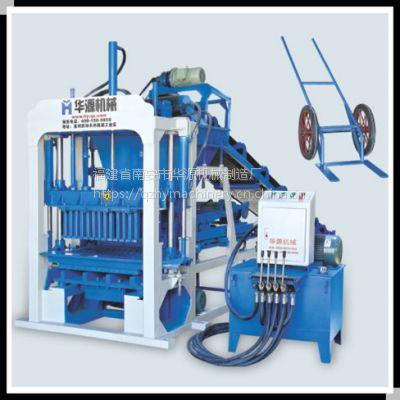 供应非洲QT4-30小型半自动空心砖机 液压成型砌块砖机 水泥制砖机