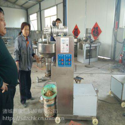 康汇牌肉丸成型机 鱼丸成型机 丸子机生产厂家