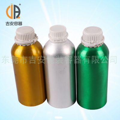 大量供应1L防盗铁铝瓶 1000ml铝瓶 多种颜色 厂家直销 价格优惠