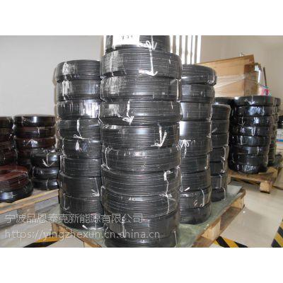 厂家直供100米盘装6平方太阳能光伏电缆