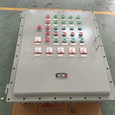 北京腾达粉尘防爆按钮风机控制箱 壁挂式 专业厂家