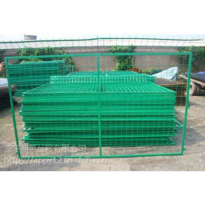 厂家现货直销 框架铁丝网围栏 景区围栏网 动物园围栏